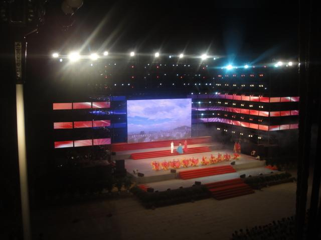 Outdoor Rental display led+Curtain led display