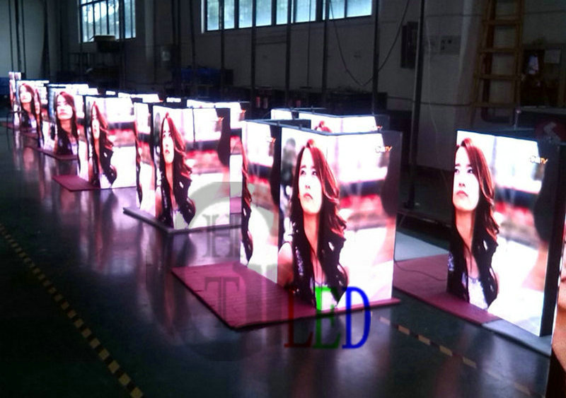 advertising screen price-P4 Indoor LED Display-Triple Junction 1